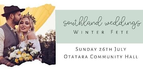 Southland Weddings Winter Fete tickets