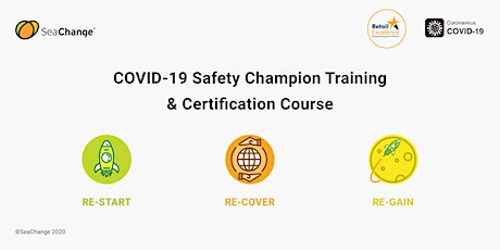 COVID-19 Safety Champion Training & Certification Course tickets