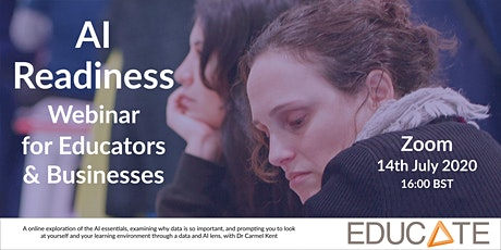 EDUCATE Presents: AI Readiness Webinar for Educators and Businesses tickets