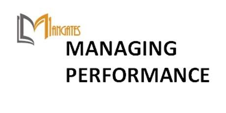 Managing Performance 1 Day Training in Montreal billets