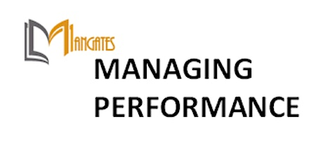 Managing Performance 1 Day Virtual Live Training in Toronto tickets