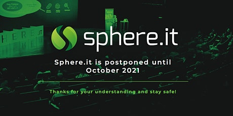 Sphere.it conference in OCTOBER 2021 tickets