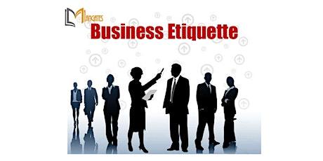 Business Etiquette 1 Day Training in Philadelphia, PA tickets