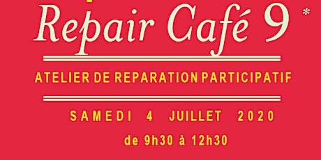 Repair Café 9 - Samedi 4 juillet à 9h30 billets