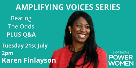 NPW Amplifying Voices series - Karen Finlayson - Role Models -  plus Q&A tickets