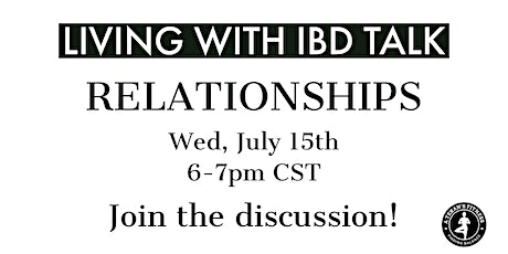 Living with IBD Talk - Relationships tickets