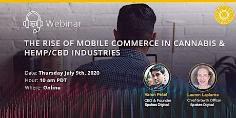 The Rise of Mobile Commerce in Cannabis & Hemp/CBD Industries bilhetes
