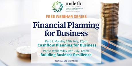 Financial Planning for Business - Two Part Webinar tickets