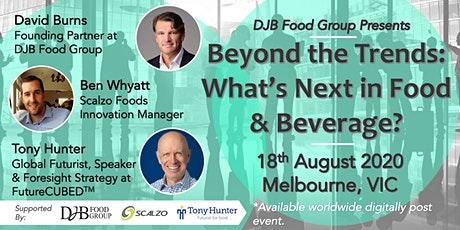 Beyond the Trends: What's Next in Food & Beverage tickets