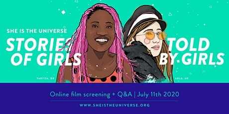 She is the Universe, Stories of Girls Told by Girls / Film Screening tickets