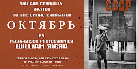 """Octubre"", Online Photography Exhibition tickets"