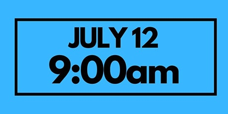 9:00AM July 12 - Services & Kids Registration tickets