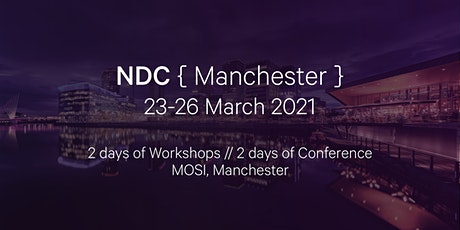 NDC Manchester 2021 | Conference for Software Developers tickets