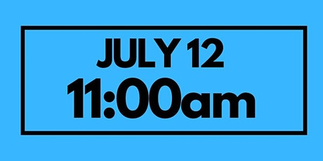 11:00AM July 12 - Services & Kids Registration tickets