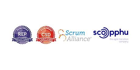 LIVE ONLINE | CSD® Certified Scrum Developer bilhetes