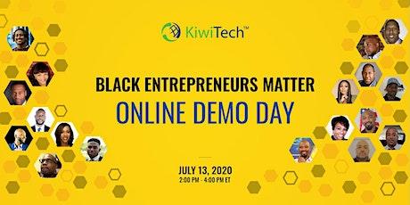 KiwiTech BEM Online Demo Day billets