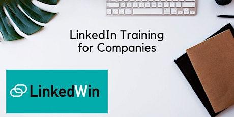 LinkedWin! - LinkedIn Training for Companies tickets