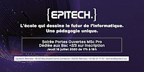 Soirée Portes Ouvertes MSc Pro - Epitech Rennes billets