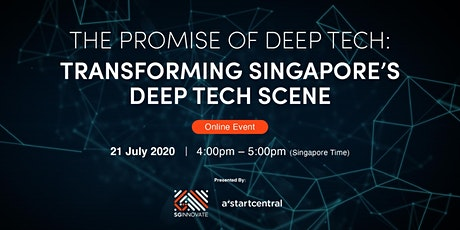 The Promise of Deep Tech: Transforming Singapore's Deep Tech Scene tickets