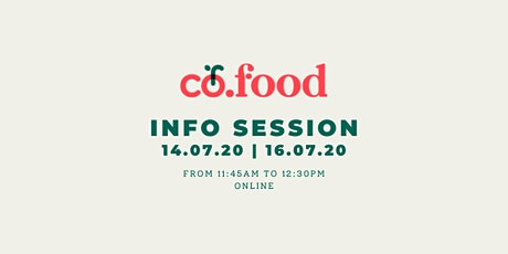 Co.Food | Info Session tickets