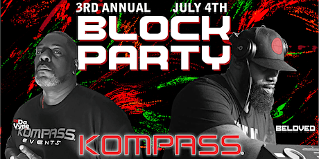 3nd Annual RED WHITE and BLK July 4th Block Party tickets