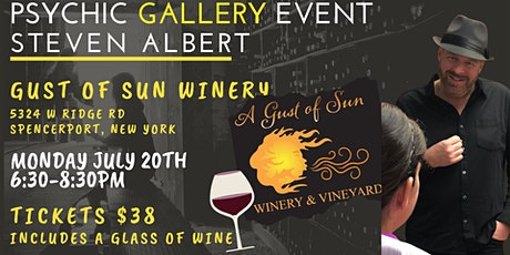 Steven Albert: Psychic Gallery Event - Gust of Sun tickets