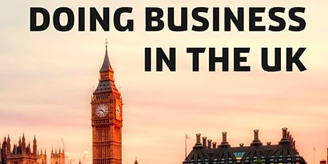 Doing Business in the UK   Webinar tickets