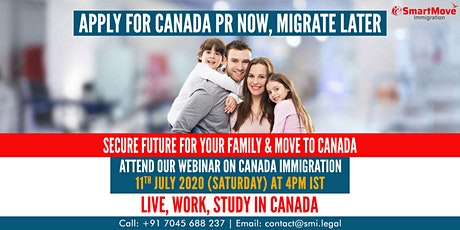 """Interactive FREE Webinar - """"Explore Your Options to Immigrate to Canada"""". tickets"""