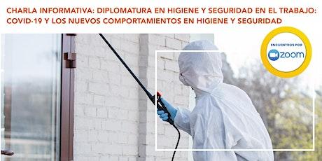 Charla Informativa: Diplomatura en Higiene y Seguridad en el Trabajo entradas