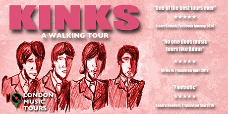 The Kinks - A Walking Tour tickets