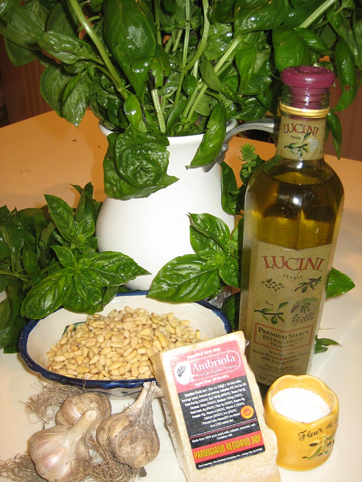 Harvesting Your Vegetables, Pesto & Intro to Tomato Canning image