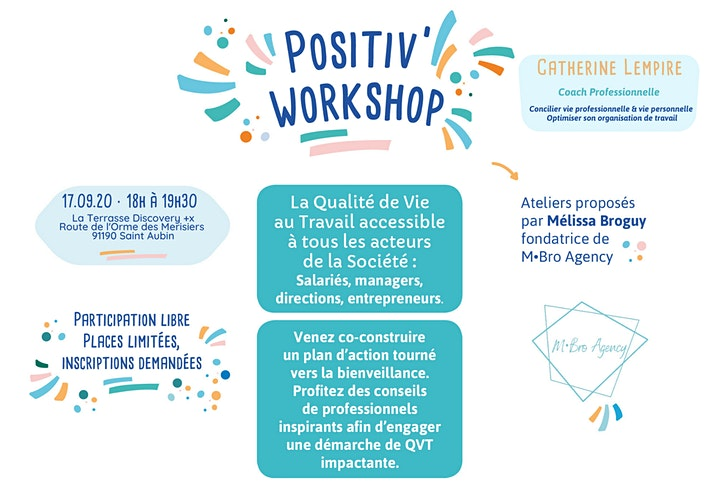 Image pour Positiv' Workshop #1