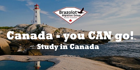 Canada -You CAN go! - Study In Canada Webinar tickets