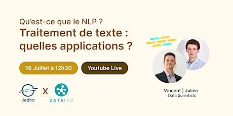 Traitement de texte : qu'est-ce que le NLP, quelles applications ? billets