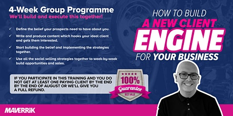 How to build a New Client Engine for Your Business tickets