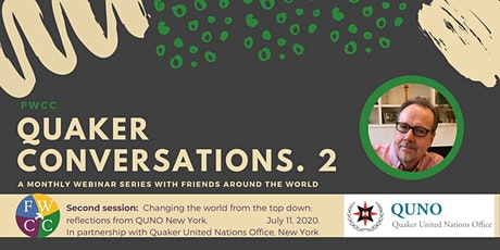 Session 2: Changing the world from the top down: reflections from QUNO, NY tickets