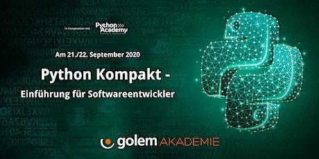 Python kompakt –  Ein Online-Workshop für Softwareentwickler Tickets