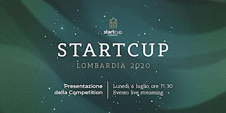 StartCup Lombardia 2020  - Presentazione della Competition biglietti