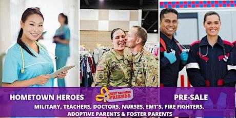 FREE Teachers, adoptive/foster parent,hometown hero(Reg. $5)Friday Sept. 11 tickets