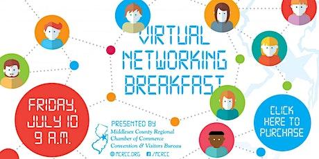 July 10th Virtual Networking Breakfast tickets