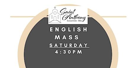 Sturday Mass 4:30PM tickets