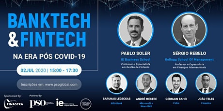 BankTech and FinTech - Virtual Event hosted at Fintech House tickets