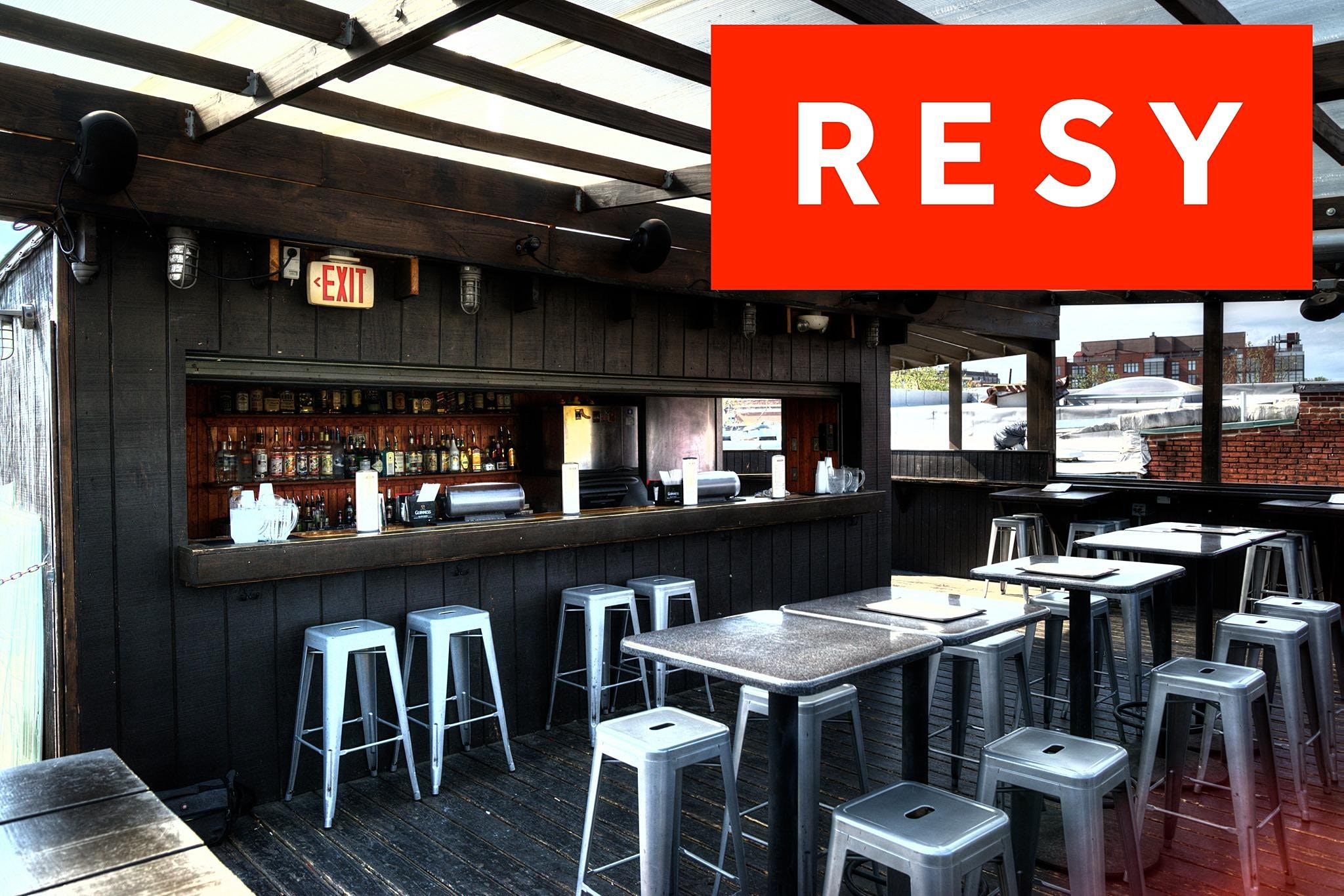 Roof Deck & Street Patio Reservations