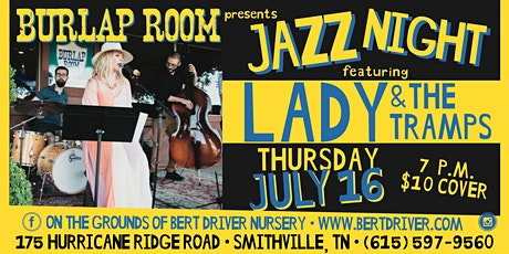 Jazz Night: Lady and the Tramps Return! tickets