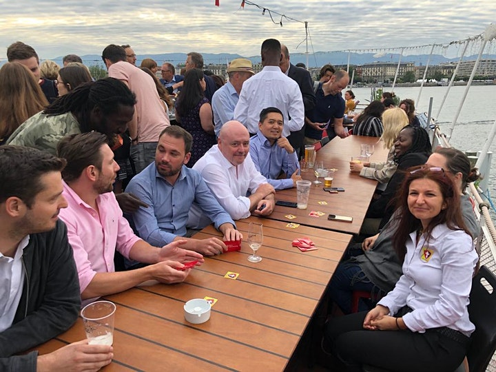Swiss CyberSecurity Networking Event on the Boat image
