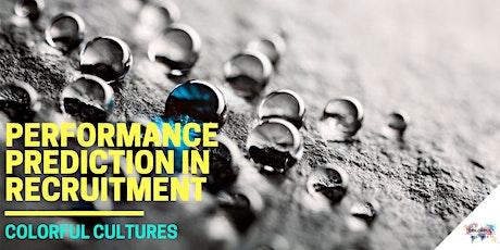 Performance Prediction in Recruitment