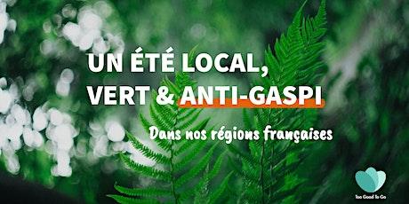 Bons plans écolo & anti-gaspi en France cet été billets