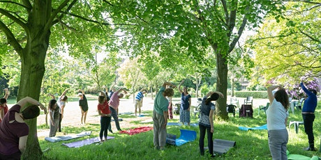 Mindful Happy Hour in the Cinquantennaire park tickets