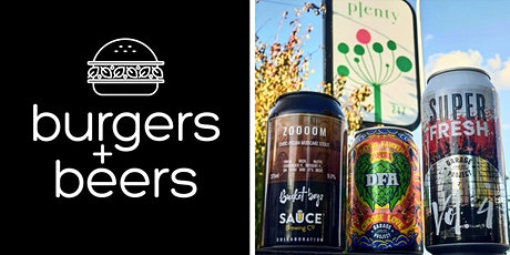 Burgers & Beers @ Plenty tickets