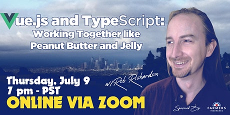 Vue.js and TypeScript: Working Together like Peanut Butter and Jelly w/Rob Tickets